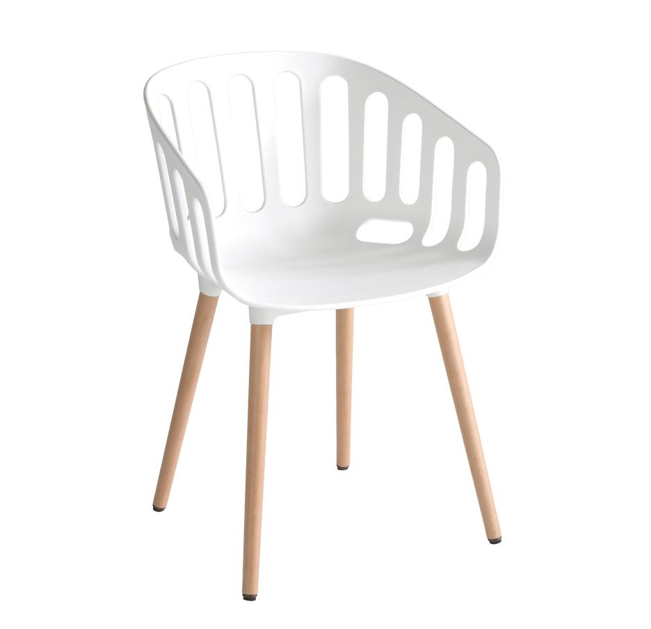 Sedie in plastica e legno archivi cactus forniture for Sedie legno e plastica