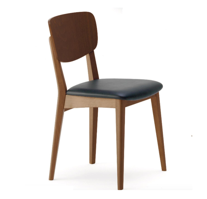 Sedie moderne in legno archivi cactus forniture for Sedie moderne per tavolo in legno