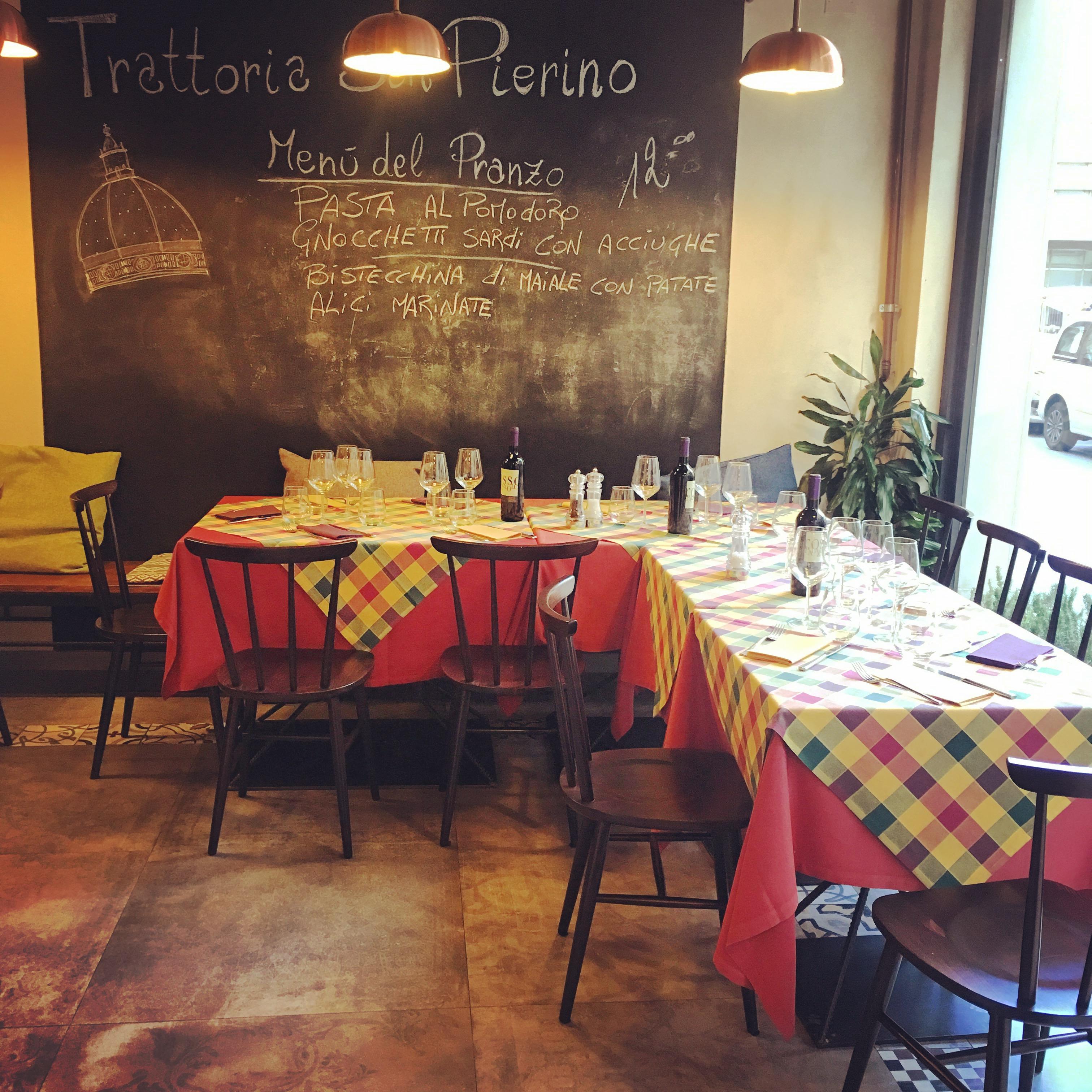 Trattoria San Pierino - via dell'Oriuolo - Firenze