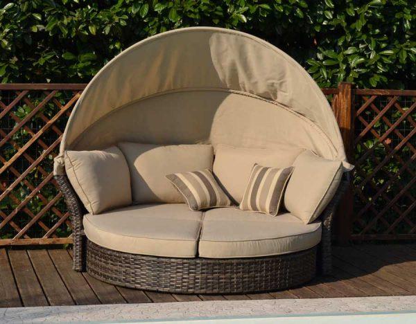Divano daybad esterno perfetto per arredare piscine e giardino all 39 aperto - Divano letto da esterno ...