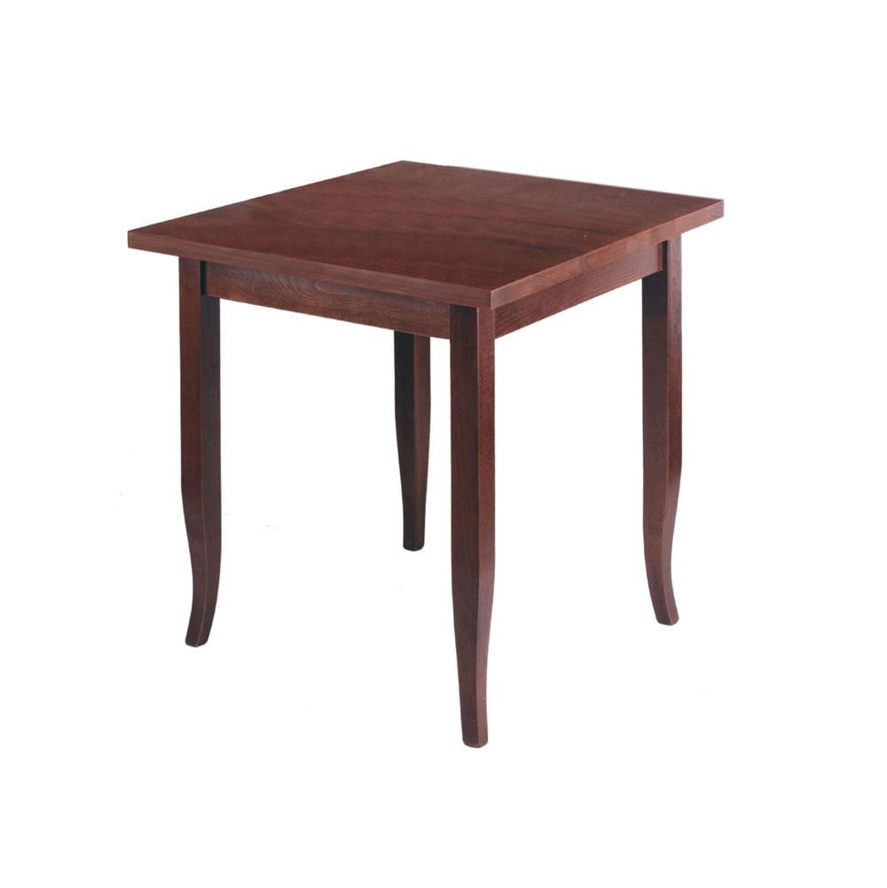 Tavolo legno rustico con quattro gambe con verniciatura for Tavolo rustico legno