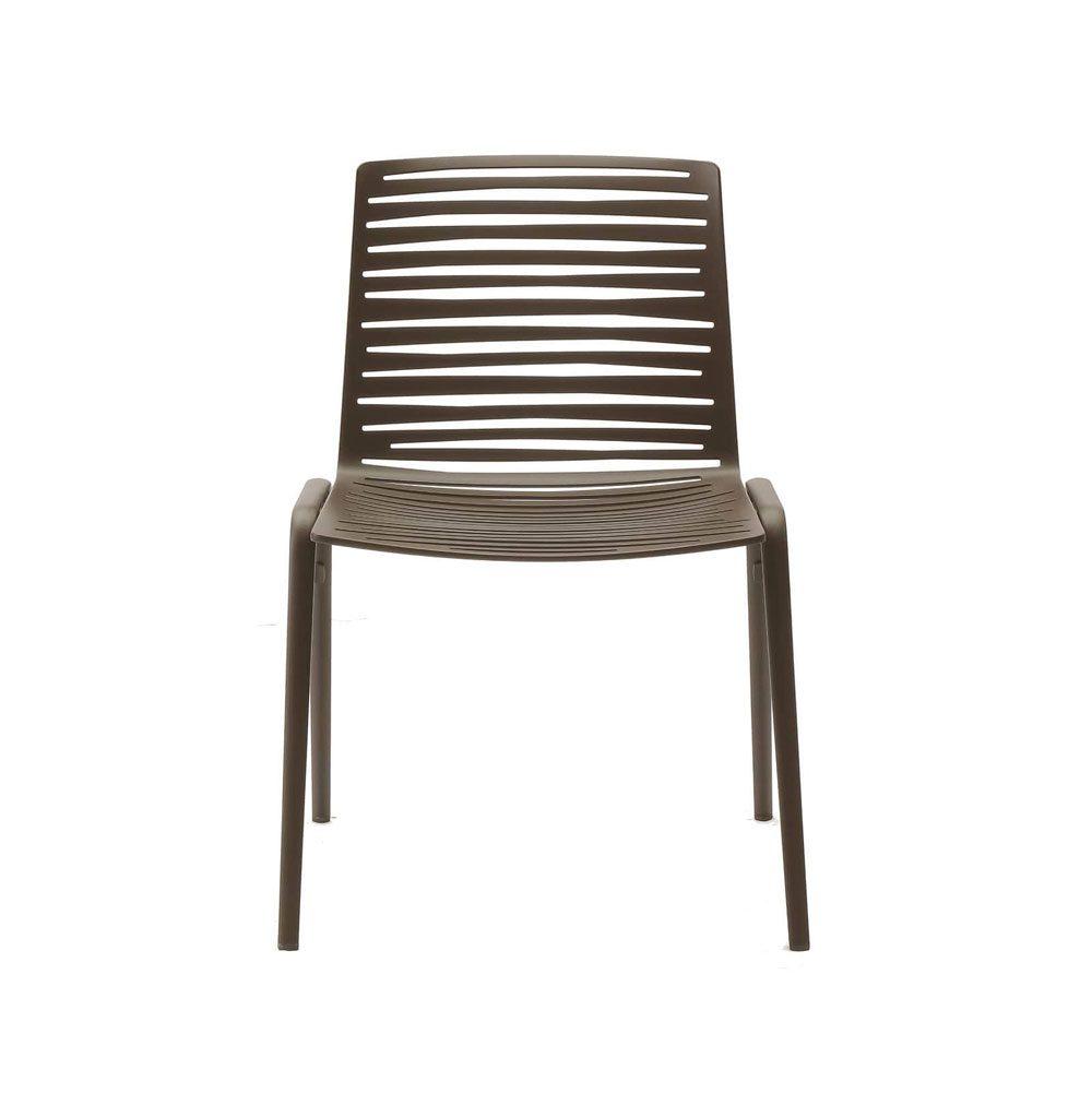 Fast Sedie Da Giardino.Sedia Zebra Fast Da Giardino Impilabile In Alluminio Pressofuso