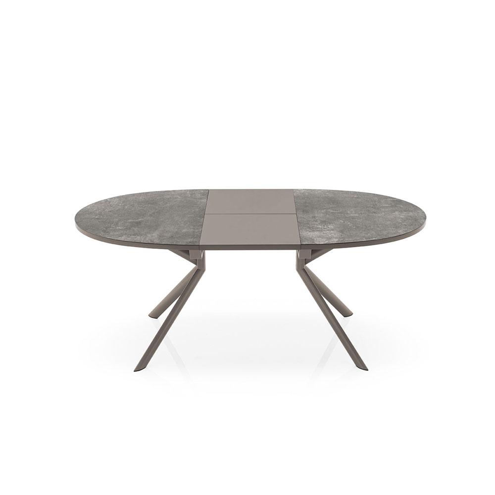 Tavolo Giove Tondo Allungabile Ad Ovale Disponibile In Varie Misure E Finiture