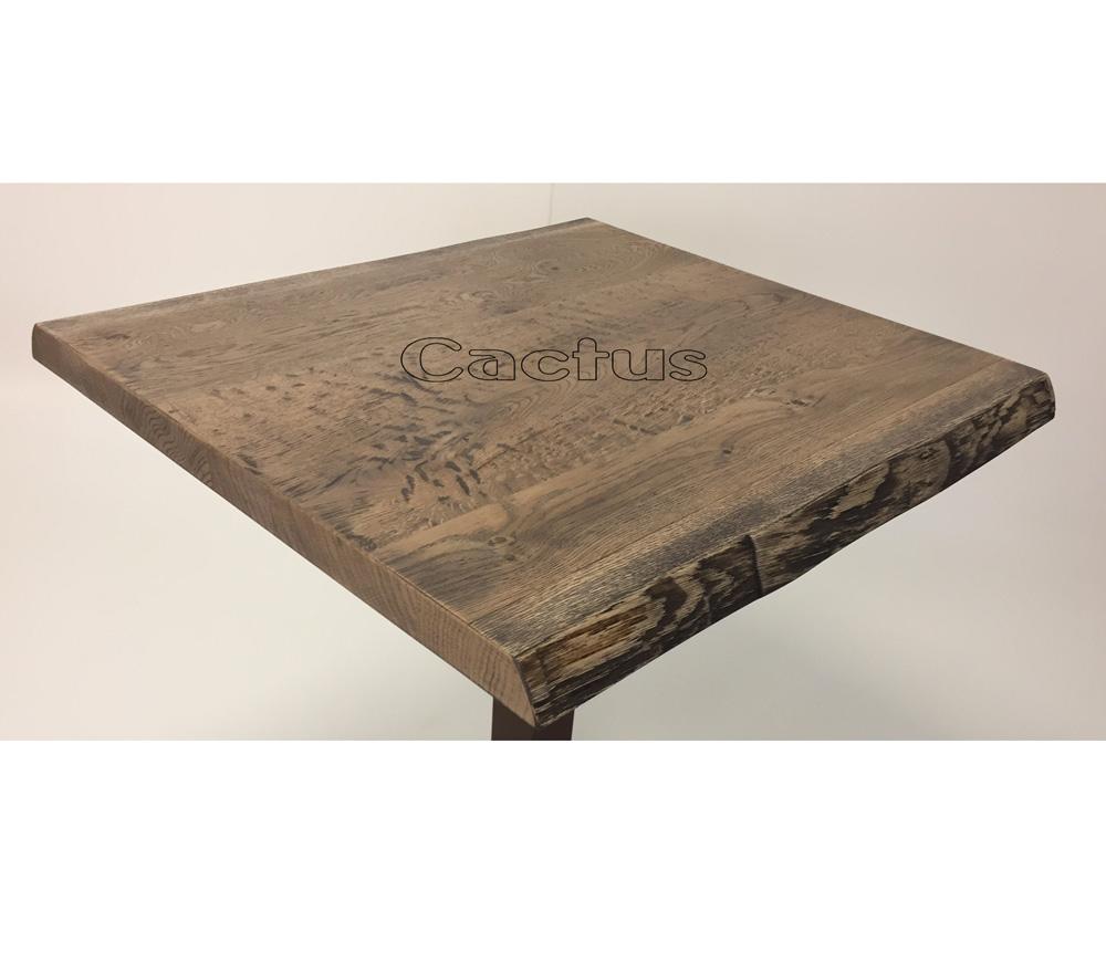 Piano Legno Corteccia Per Tavoli Da Ristorante Realizzato Artigianalmente