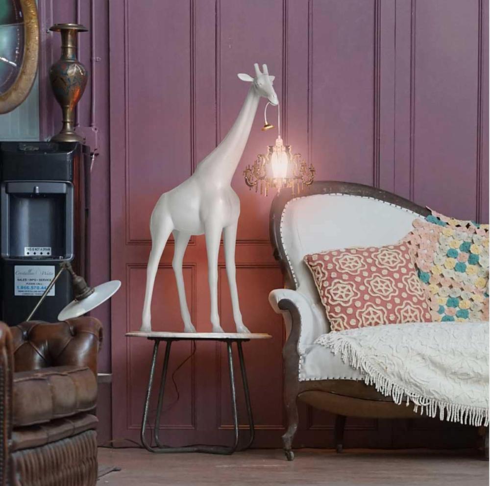 lampada da tavolo giraffa