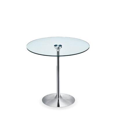tavolo tondo vetro