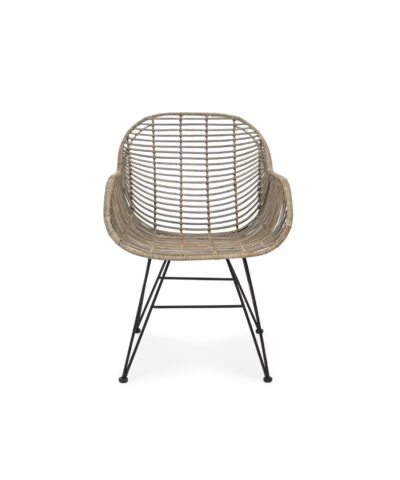 poltroncina in rattan